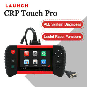 Launch 5 0 Crp Touch Pro Full Systems Obd2 Scanner Diagnostic Scan Tool Android