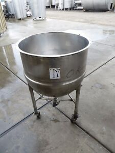 40 Gallon Stainless Steel Mixing Tank