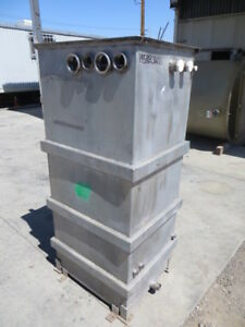 145 Gallon 316 Stainless Steel Rectangular Tank