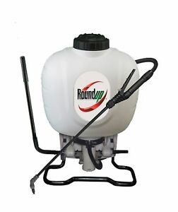 Roundup 190314 Backpack Sprayer For Fertilizers Herbicides Weed Killers And