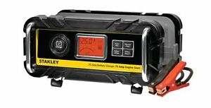 Stanley Bc25bs 25 Amp Bench Battery Charger With 75 Amp Engine Start And Alte