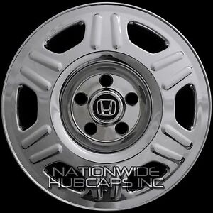 4 For Honda Crv 2005 2006 Chrome 16 Wheel Covers Skins Hub Caps Fit Steel Rim
