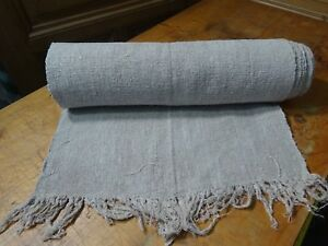 A Homespun Linen Hemp Flax Yardage 10yds X 21 Plain 10272