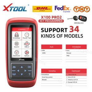 Xtool X 100 Pro Obd2 Ecu Reset Ecm Immobilizer Code Reader Scanner Tool