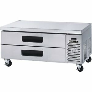 Blue Air Commercial Refrigerated Chef Base 53 With 2 Drawers 3 Year Warranty