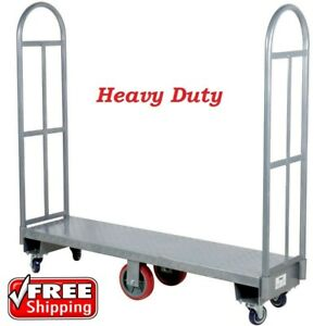 Regency 16 X 63 Steel Delivery Dolly U boat Utility Cart Platform Hand Truck