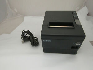Epson M244a Pos Thermal Printer Bundled W Usb Cable Tested