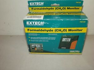Extech Fm100 Formaldehyde Monitor New In Box