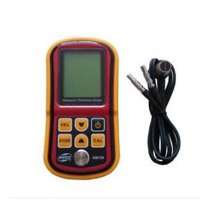 Gm100 Ultrasonic Thickness Gauge Tester Metal Width Measuring Instrument