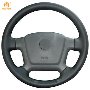 Genuine Leather Steering Wheel Cover For Kia Cerato 2005 2012 Old Ceed qy36