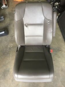 2014 2017 Honda Odyssey Front Grey Leather Passenger Right Seat W Airbag Oem