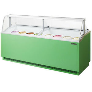 Turbo Air Tidc 91g Ice Cream Dipping Cabinet Green