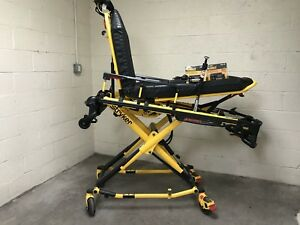 Stryker Power Pro 700 Lbs Ambulance Stretcher Cot Ferno Mx Ems 6500 Low Hrs A