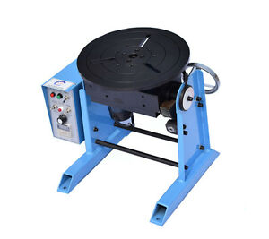 30kg Loading Capacity Welding Positioner Turntable With Timing Function 110v Us