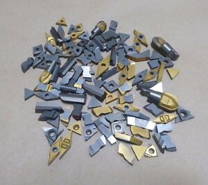 Huge Lot Of 108 Pieces Various Carbide Inserts Bits