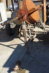 Concrete Mixer 3 5 Cubic Feet Batch Capacity Electric Motor