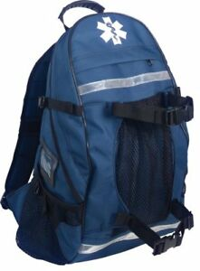 Arsenal 5243 First Responder Trauma Emt First Aid Backpack 600d Polyester Blue