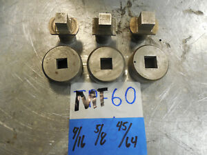Di acro Punch Die Square Diacro Turret Punch Lot Square punch Press Thor