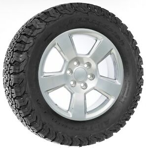 20 Polished Ltz Style Wheels For Chevy Silverado Tahoe Suburban Bfg At Tires