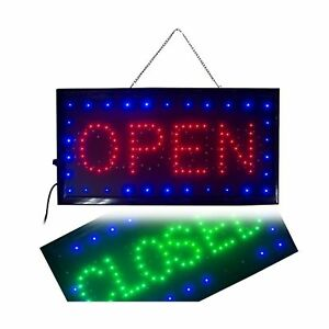 Open Closed Sign 2 In 1 Ultra Bright Led