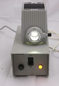 Zeiss Hbo 50w 468032 9902 Microscope Lamp House And Power Supply Axio Grey