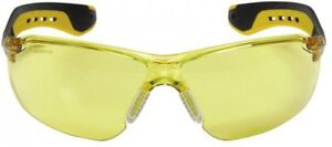 Safety Glasses 3m High Impact Scratch Resistant Uv Protection Yellow Lenses Gear