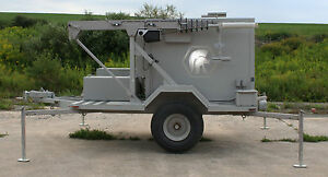 Cctv Construction Security Ptz Camera Trailer Ac Battery 40 Mast Wi fi