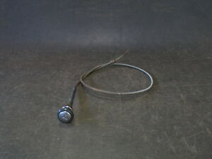 1949 1950 Chevrolet Styleline Fleetline Coupe Throttle Cable And Knob