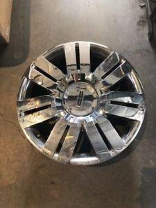2008 2009 2010 Lincoln Mkx Chrome Clad 20 Oem Wheel Rim 3702 A50