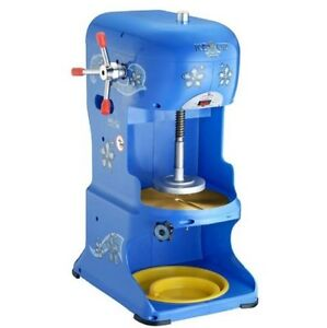 Hawaiian Shaved Ice Machine Snow Cone Maker Kit Commercial Heavy Duty Ice Shaver
