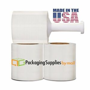 96 pack Stretch Film Plastic Wrap Free 1 Plastic Handle For Easy Dispense For