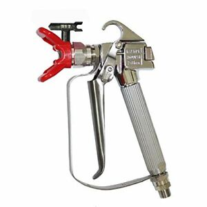 Dusichin Dus 036 Airless Paint Spray Gun High Pressure 3600 Psi 517 Tip Swive