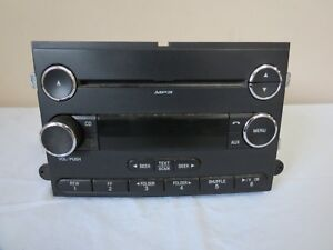 07 08 2007 2008 Ford F150 Truck Stereo Am Fm Radio Cd Mp3 Aux Player Display Oem
