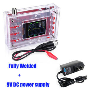 Fully Welded Assembled Dso138 2 4 Tft Digital Oscilloscope 1msps Probe Kit