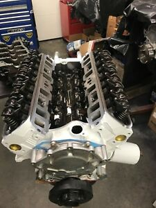 351w 427 Stroker Roller Ford Long Block With Oil Pan Tc Gt 40 Heads