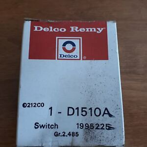 Delco Remy Headlight Switch 1 d1510a