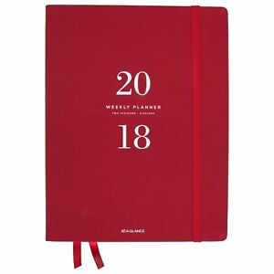 At a glance Weekly Monthly Planner January 2018 January 2019 8 1 2