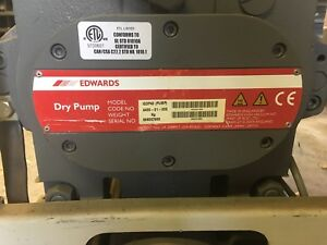 Edwards Dry Pump Iqdp40