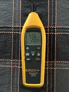 Fluke 971 Temperature Humidity Meter untested