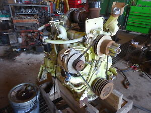 John Deere 4039tf001 Turbo Diesel Engine Runs Mint Video 4039t Backhoe Tractor