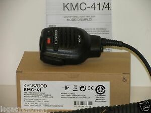 Kenwood Kmc 41 M Remote Speaker Microphone Nx 200 tk 3140 tk 5210 tk 2180 New