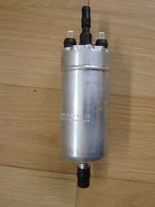 Nos Original Vintage Bosch 0580463012 Inline Electric Fuel Pump W Flat Contacts