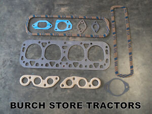 New Complete Head Gasket Kit Farmall International 300 350 H I4 O4 Super H W4