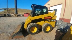 2015 Caterpillar 242d 242 D Skid Steer Loader Cab A c Hyd Coupler Used