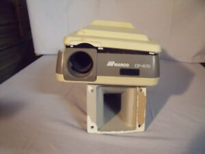 marco Cp 670 For Parts Only Optometry Acuity Auto Eye Chart Projector o1