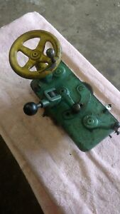South Bend Heavy 10 Lathe Apron With Cam Clutch Assembly Complete