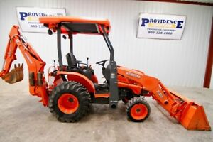 Kubota B26 Hst 4wd Tractor Loader Backhoe With Only 422 Hours