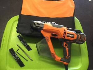 Ridgid 3 In Drywall And Deck Collated Screwdriver R6791 Dated 2017
