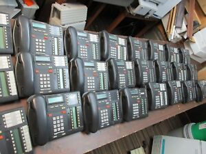 Nortel Norstar Mics Telephone System With Lot Of 10 T7316 Telephione Sets