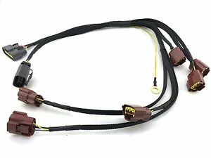 Skyline Ignition Coil Connector Plugs Wire Harness Stagea Rb26dett Series 1 R32